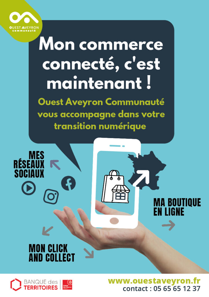 Flyer accompagnement e-commerce